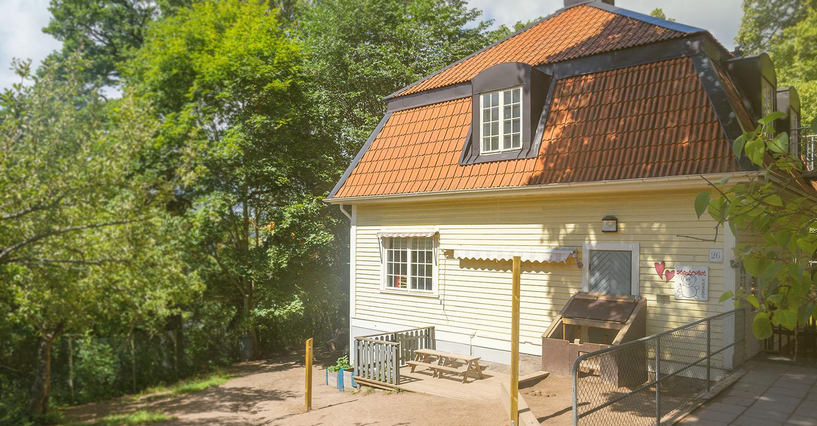 Stentrollet - en förskola mitt i Växjö